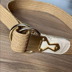 Michael Kors Straw Belt